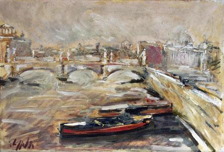 Quadro di Emanuele Cappello Roma - olio tela